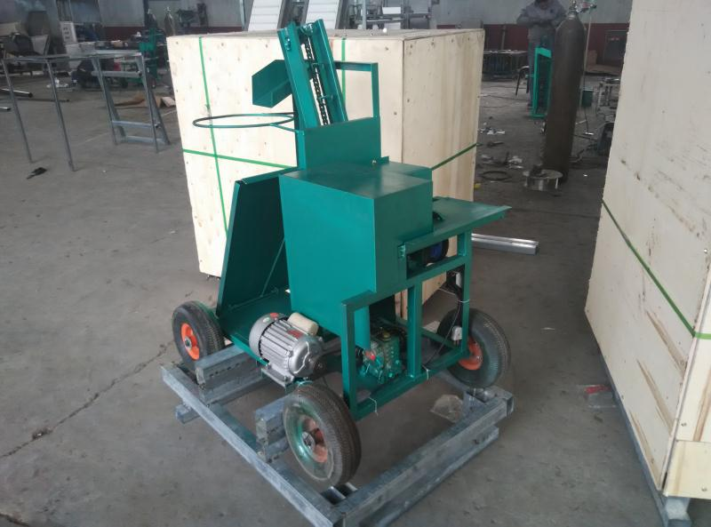 Garlic root cutting machine was sold to Azerbaijan