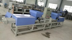 South Africa clients ordered press pallet block production line