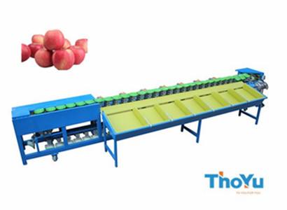 apple weight grading machine