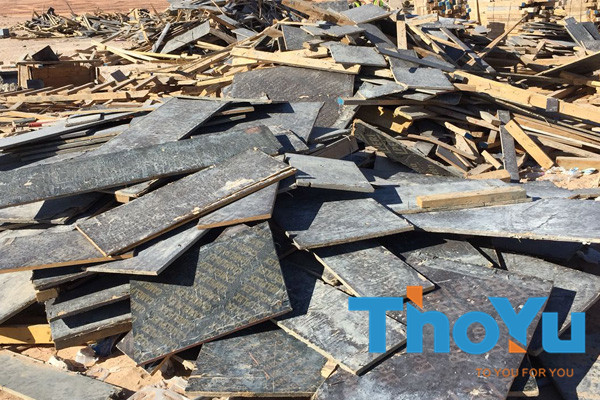 raw materials for plywood pallet block