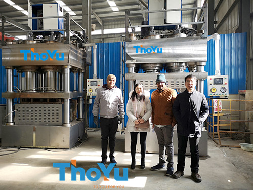 automatic pressed wood pallet production line