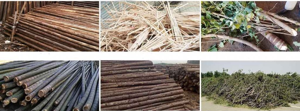 All kinds of waste wood